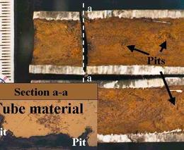 Corrosion in heat exchanger- improper inhibitor selection