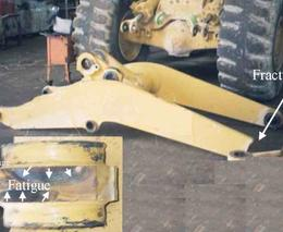 Longer arms of bulldozer – resulted in obvious cracks